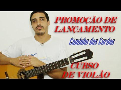 PROMOÇÃO LANÇAMENTO - curso de violão online