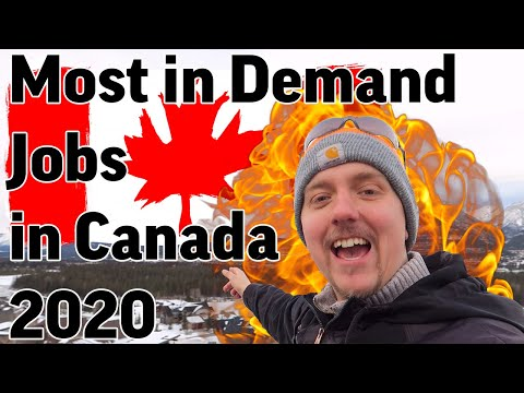 Most In Demand Jobs In Canada In 2020