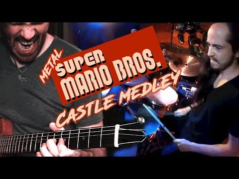 Super Mario Bros. - Castle Medley (Guitar & Drum Video)