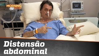 Bolsonaro tem alimentação oral suspensa