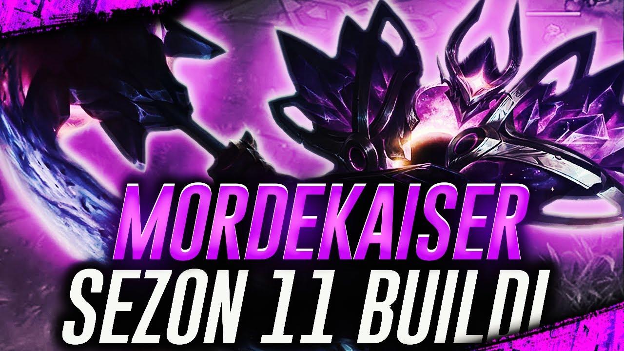 YENİ SEZONDA MORDEKAİSER YOK EDECEK!!!   SEZON 11 MORDEKAİSER BUİLDİ   LOL SEZON 11 @Boratello