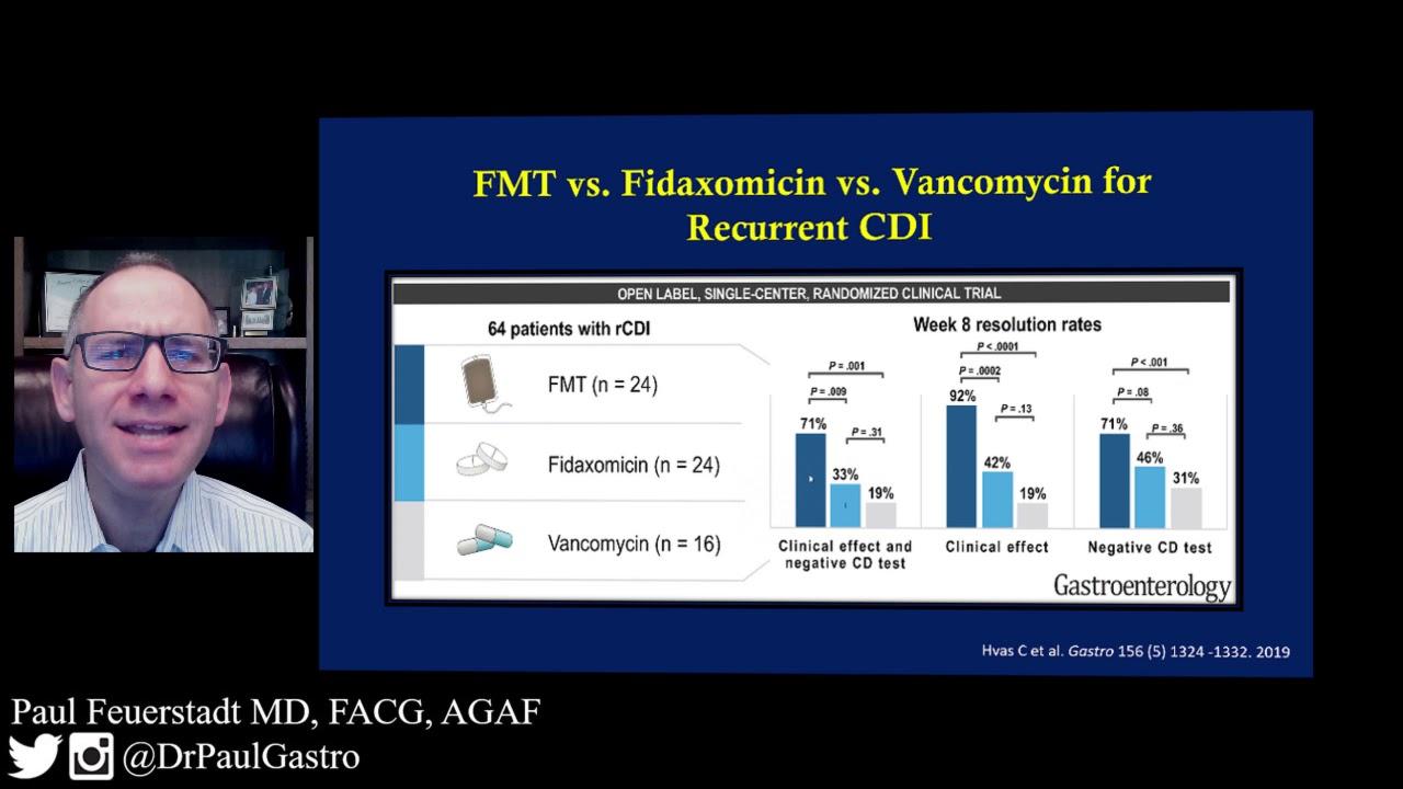 FMT v Fidaxomicin v Vancomycin for Multiply Recurrent CDI (Provider)