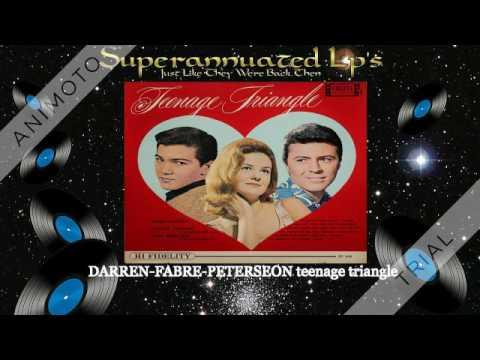 JAMES DARRENSHELLEY FABARESPAUL PETERSEN teenage triangle Side One