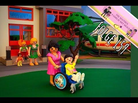 Unfall in der Kinderklinik | Playmobilfilm auf deutsch | Familie Mathes