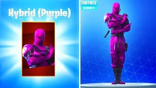 How To Get PURPLE NINJA SKIN in Fortnite Season 8! (Fortnite Free Skin Rewards)