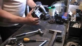 как снять ротор магнето маховик на мотокосе(, 2016-06-28T16:42:03.000Z)