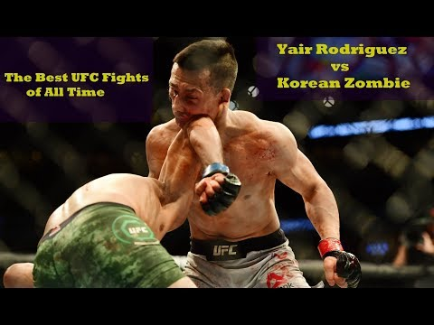 Yair Rodriguez Vs Korean Zombie | UFC Highlights | The Best UFC Fights Of All Time
