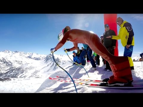254.958kph Speed Ski World Record 2016, Fastest non-motorised humans on the planet.