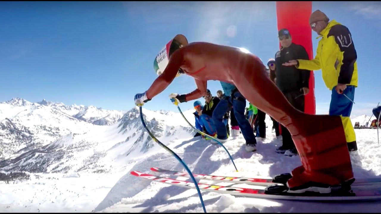 downhill skiing speed record