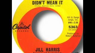 Jill Harris   You Really Didn