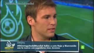 """Mundial 2014   España 0-2 Chile - Francesco Barbera: """"Los jugadores mueren por Sampaoli"""""""