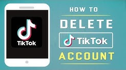How To Delete Your TikTok Account │ 2019