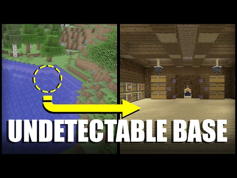 How to Make an Undetectable Base in Minecraft