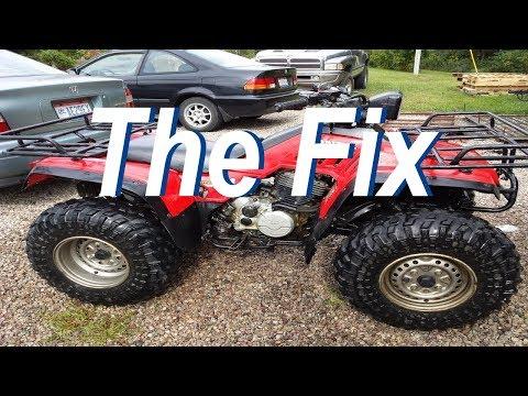 Honda TRX 350 Wont Start - YouTube