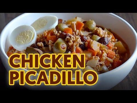 Chicken Picadillo |