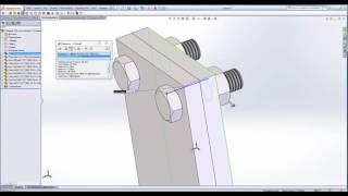 Работа в SolidWorks. Инструменты анализа