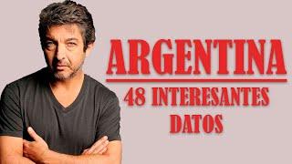 48 datos INTERESANTES sobre ARGENTINA