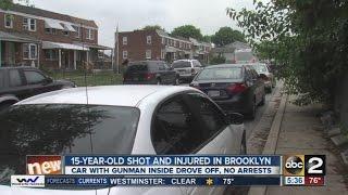 15-year-old shot in arm in Brooklyn