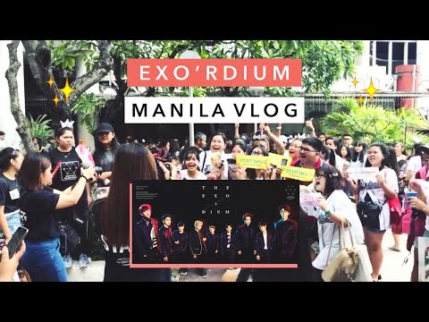 Manila Vlog ☀️ The EXO'rDIUM Global Package