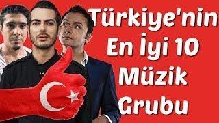 Türkiye'nin Gelmiş Geçmiş En İyi 10 Müzik Grubu