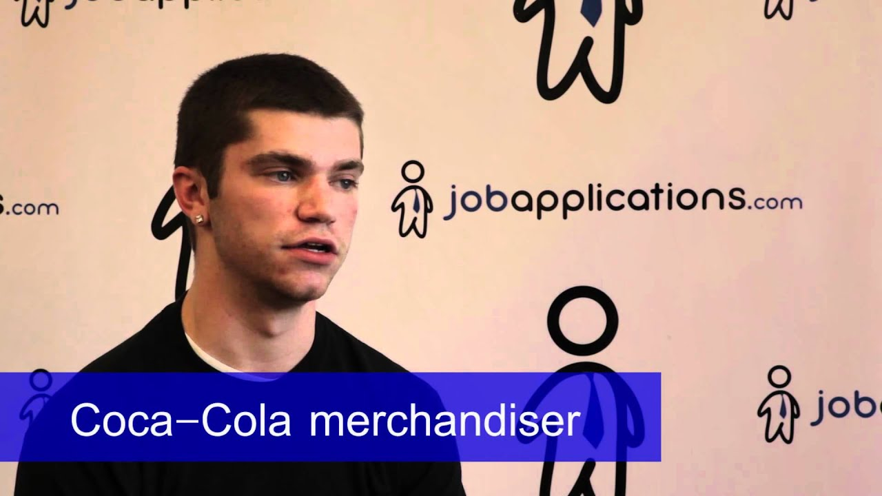 coca cola interview merchandiser