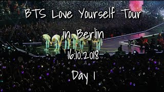 HQ BTS LOVE YOURSELF TOUR | Berlin Day 1 16.10.2018