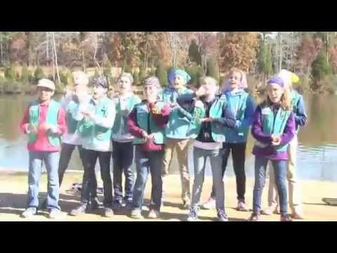 Girl Scout Troop 1277 - Fred the Moose Camp Song