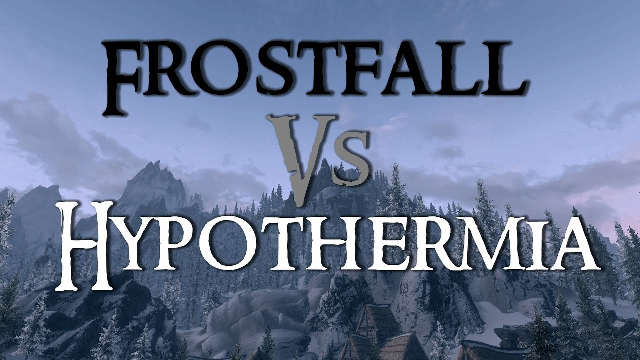 Frostfall скачать мод для скайрим