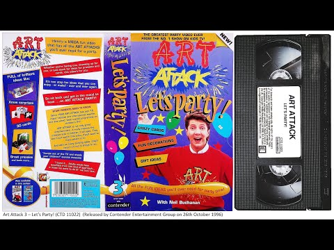 Art Attack - Let's Party! [VHS] (1996)