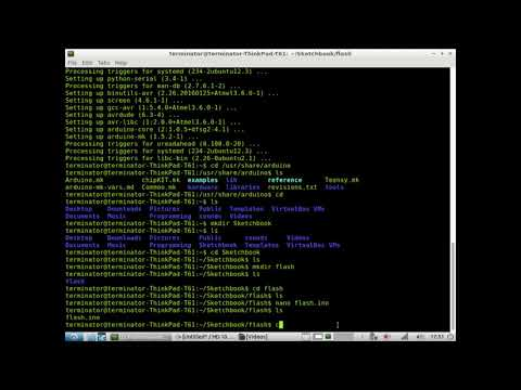 Linux Arduino Makefile: Use Arduino From Command Line