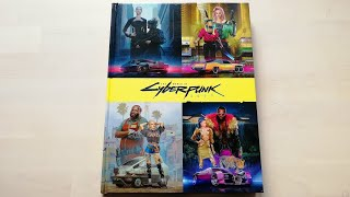The World of Cyberpunk 2077 Artbook - All pages, full review [4K]