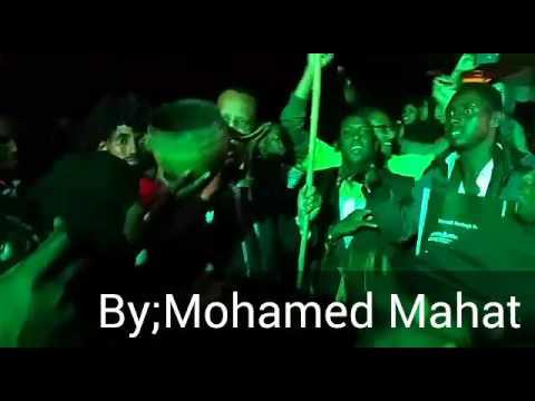 Governor Nathif enjoying Somalia Cultural Dance