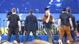 Backstreet Boys Larger Than Life (Soundcheck GMA 8/31/12)