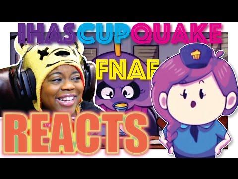 FNAF 2 Animation | iHasCupquake Reaction | AyChristene Reacts