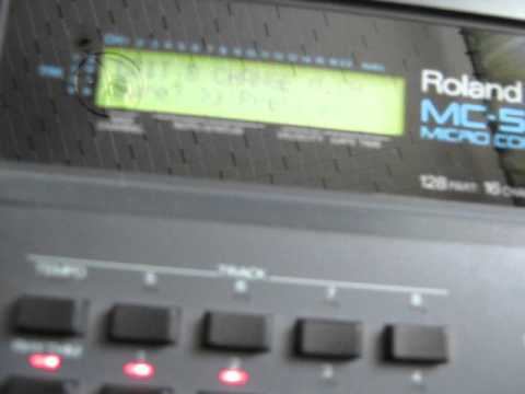 Roland mc-50 manual baby sister of the famous mc500, a quality.
