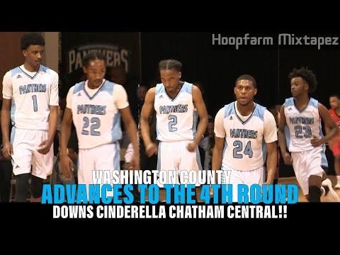 Washington County DOWNS Cinderella Chatham Central!!