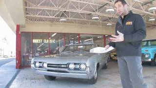 1967 Oldsmobile 442 Convertible for sale with test drive, driving sounds, and walk through video