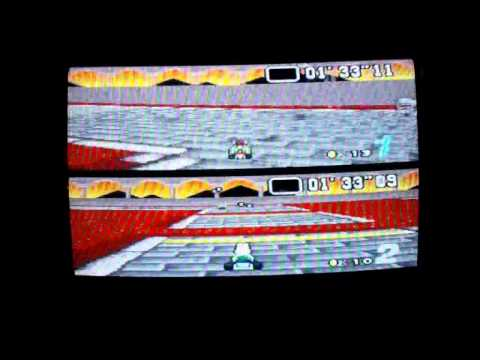 Super Mario Kart Match Race Leyla Hasso vs Adam Mallett (GEEK 2014)