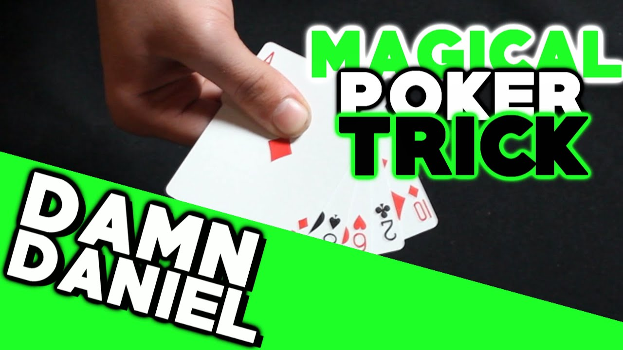 royal straight flush magic trick