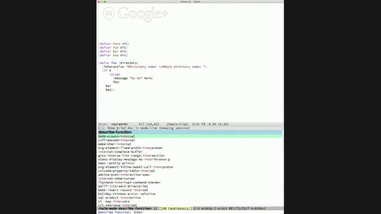 2015 04 08 Emacs Lisp Development Tips With John Wiegley