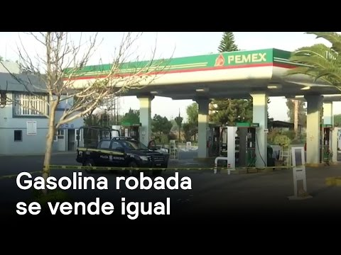 Gasolina robada se vende a precio oficial - Denise Maerker 10 en punto