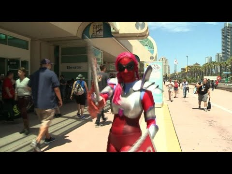 AFP news agency: Comic-Con 2018 opens in San Diego