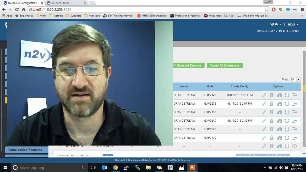 LDAP configuration for Grandstream