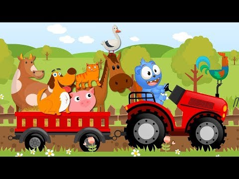 Old MacDonald Had A Farm || If You're Happy || Cartoons For Kids || Kids Songs Compilation