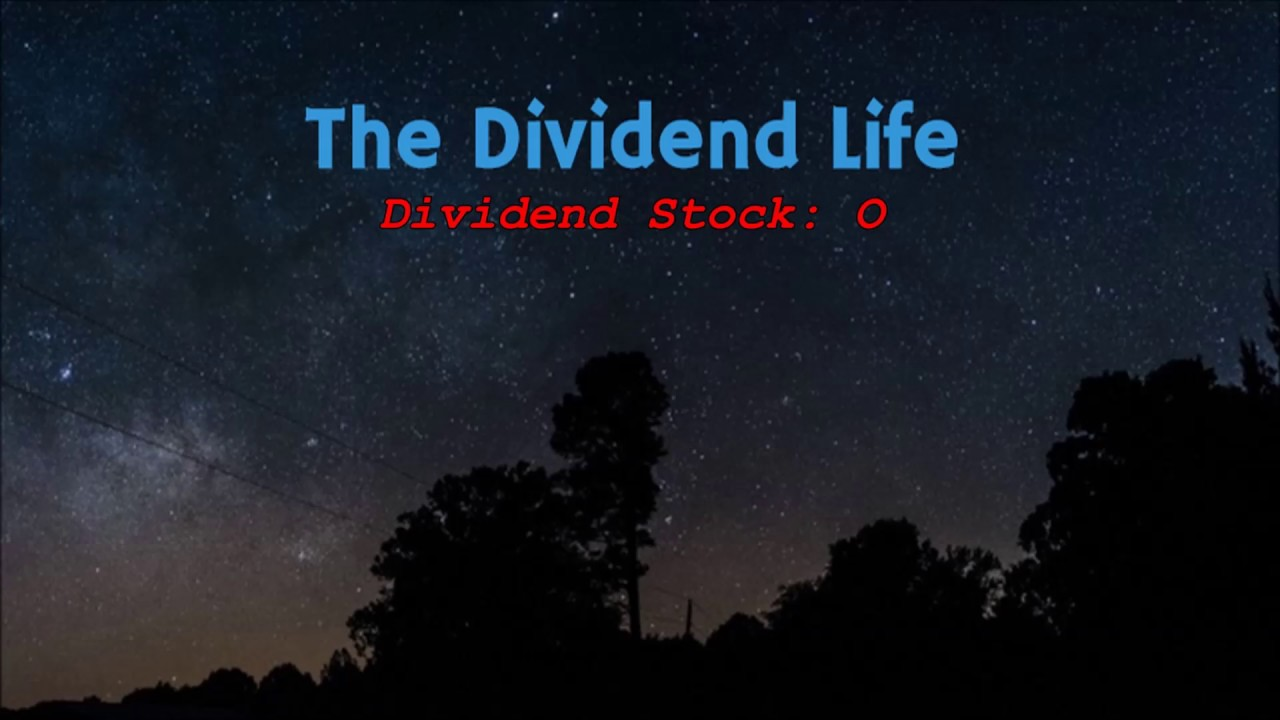 Dividend Stock O Realty Income Corporation Youtube