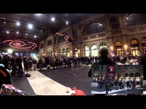 KIDS - Flashmob 2015 Zürich HB - Schamaroper-Poper Chur