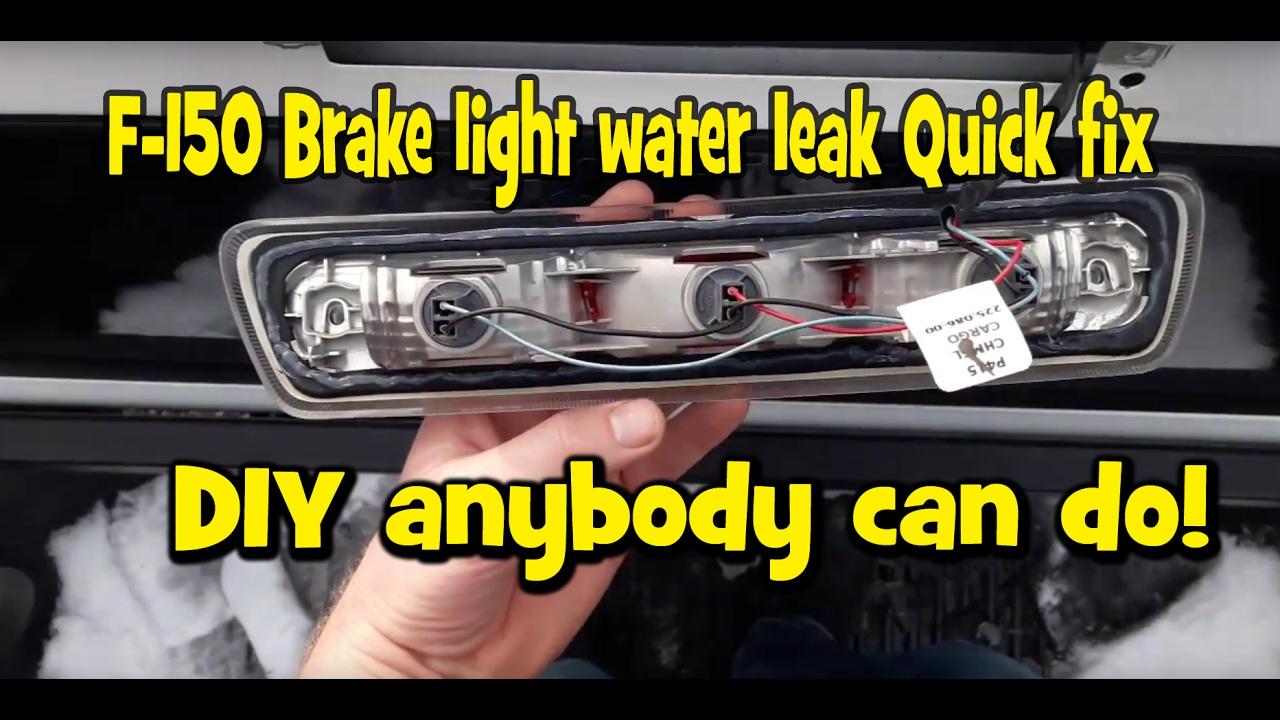 2016 F150 Tail Lights >> 2009-2014 Ford F150 Headliner water leak brake light DIY ...