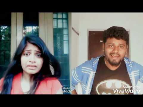 Romeo juliet climax scene dubsmash | jayam ravi | Hansika Motwani | Adelin archu