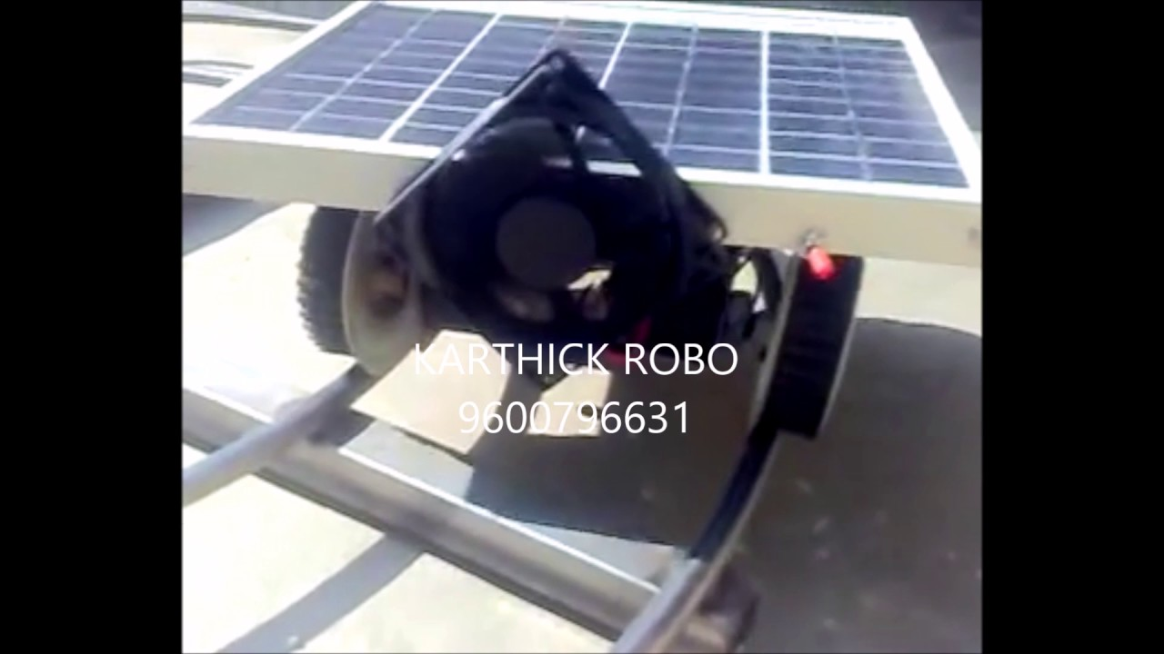 solar train easy simple mechanical engineering project topics