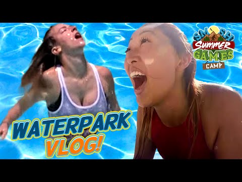 GETTING WET IN A WATERPARK (Smosh Summer Games)